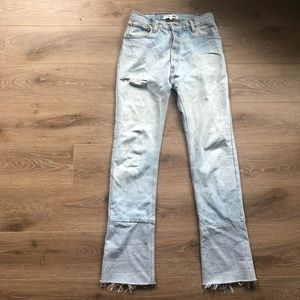 RE/DONE X LEVI'S JEAN